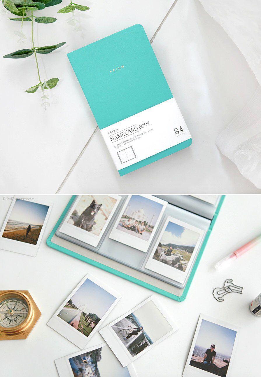 9046e11f16700 Instax Mini Album [PRISM] / Business Card Book / Photo Album ...