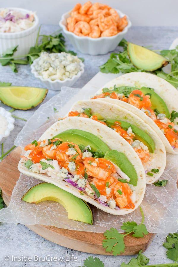 Easy Buffalo Shrimp Tacos Recipe Easy Buffalo Shrimp Tacos Recipe Inside Brucrew Life