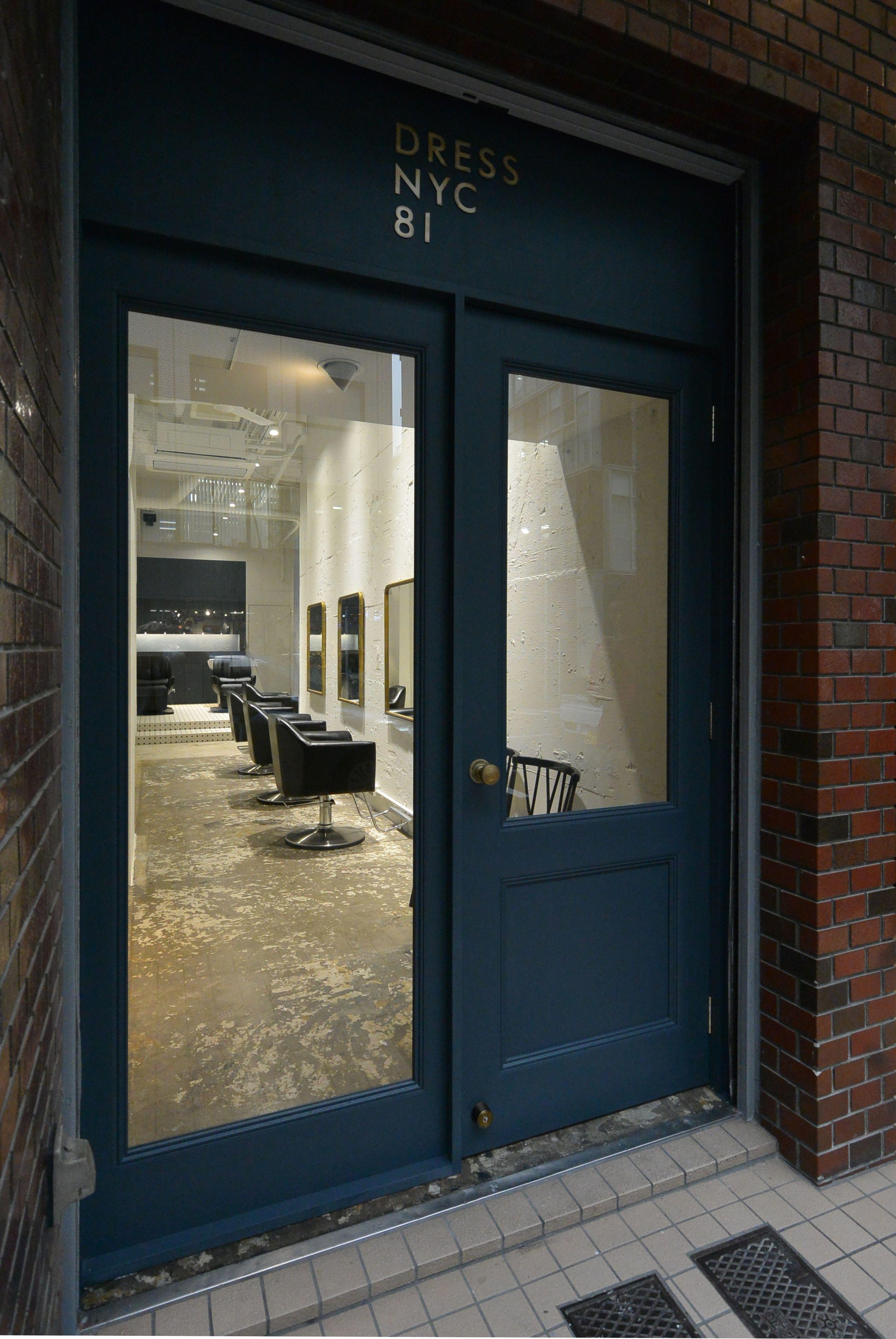アオイデザイン|aoydesign|DRESS NYC 81|製作の木製框ドア