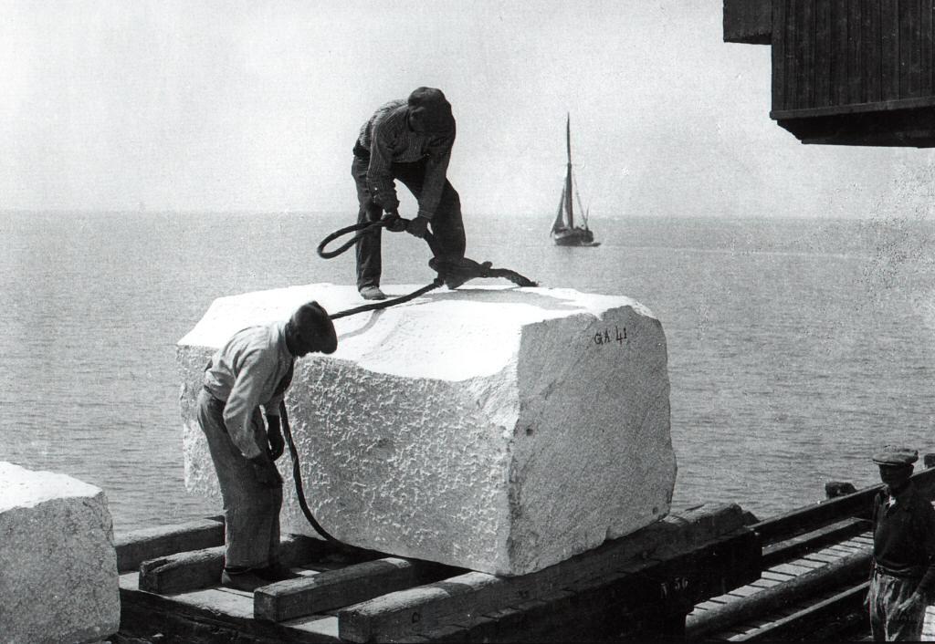 Imbarco di un blocco