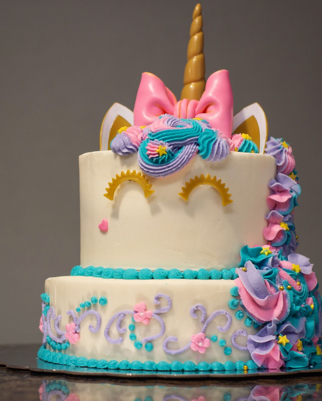 This Cake Is For A Very Sweet Little Girl Who Not Only Loves