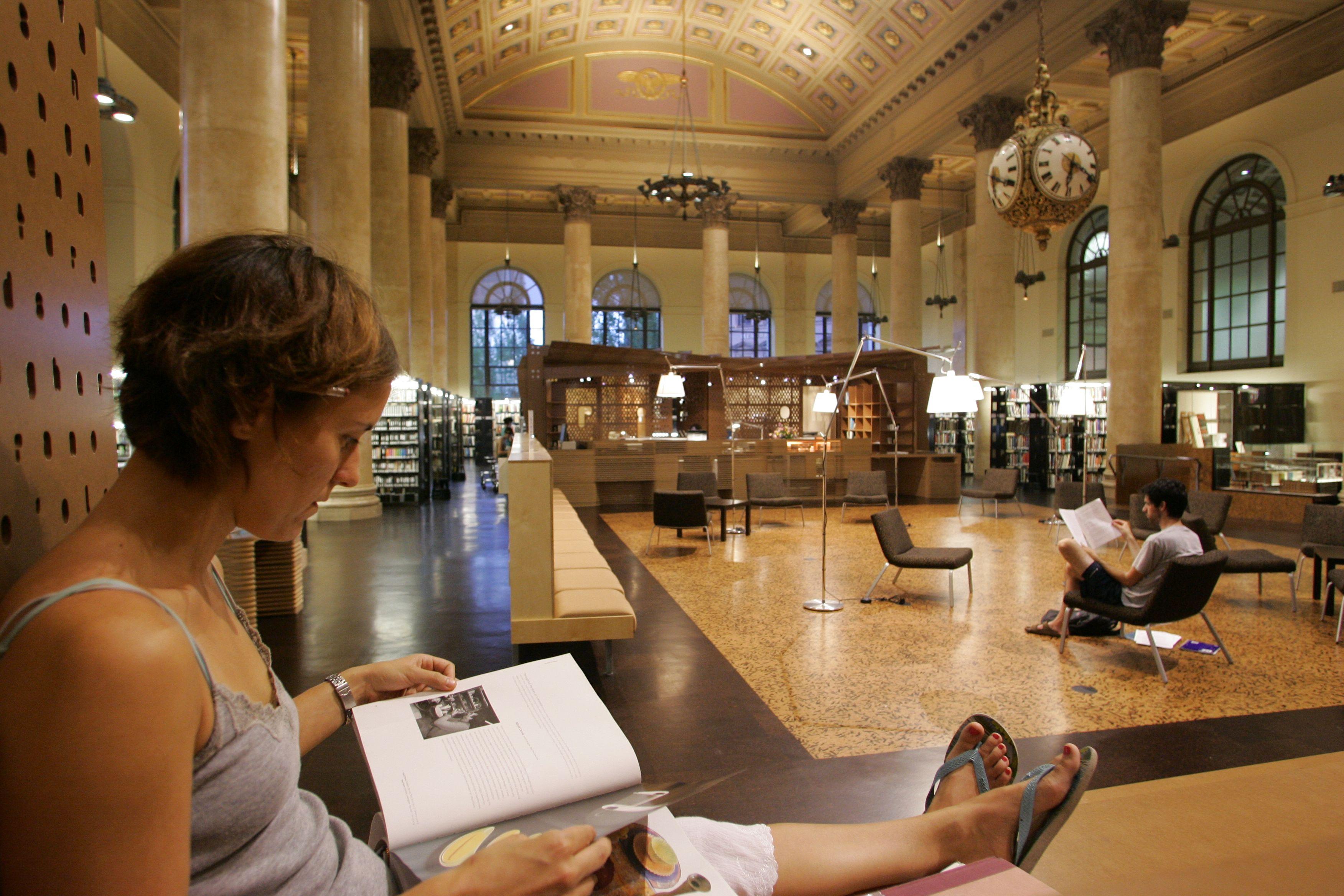 RISD Fleet Library Interior Providence RI Island HospitalInstitute Of DesignIntelligent