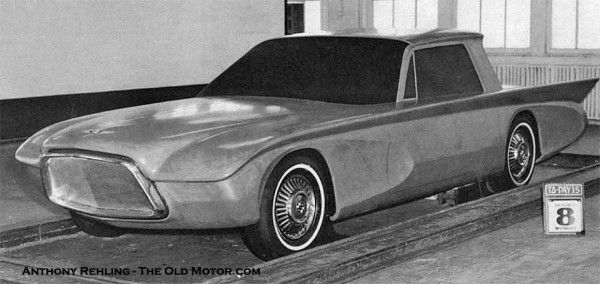 A 1956 Studebaker-Packard Clay Concept Car and a Modeler's ...