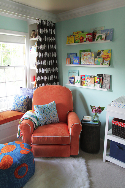A great spot to read with your kids!