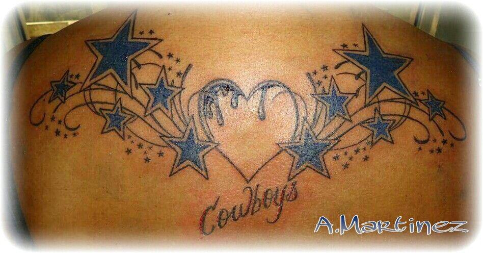 Dallas cowboys tattoo on nude girl — 7