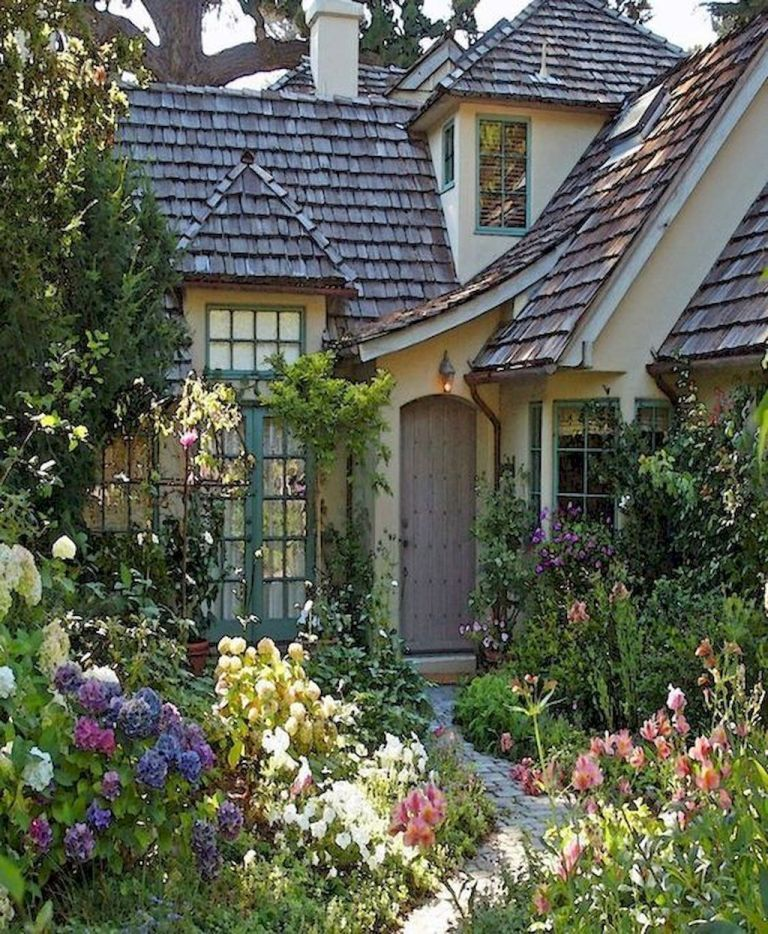 Home Design Ideas Front: 45 Fresh Cottage Garden Ideas For Front Yard And Backyard
