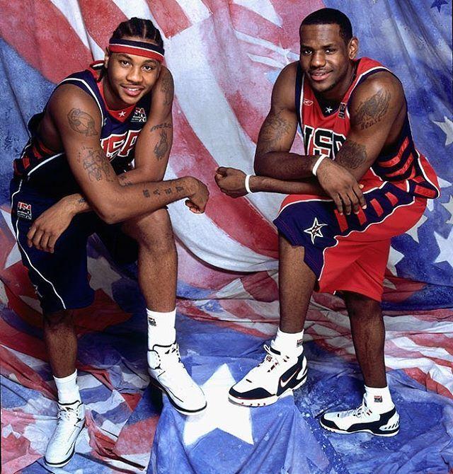 super popular 35f52 1a336 Air Jordan 2 Retro worn by Carmelo Anthony • Nike Air Zoom ...