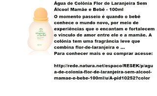 Rede Natura Espaco Resek Agua De Colonia Flor De Laranjeira Sem