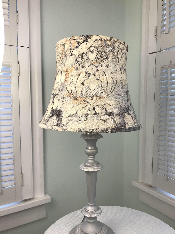 Gray damask lamp shade damask print lamp shade drum lamp shade gray damask lamp shade damask print lamp shade drum lamp shade neutral damask aloadofball Image collections