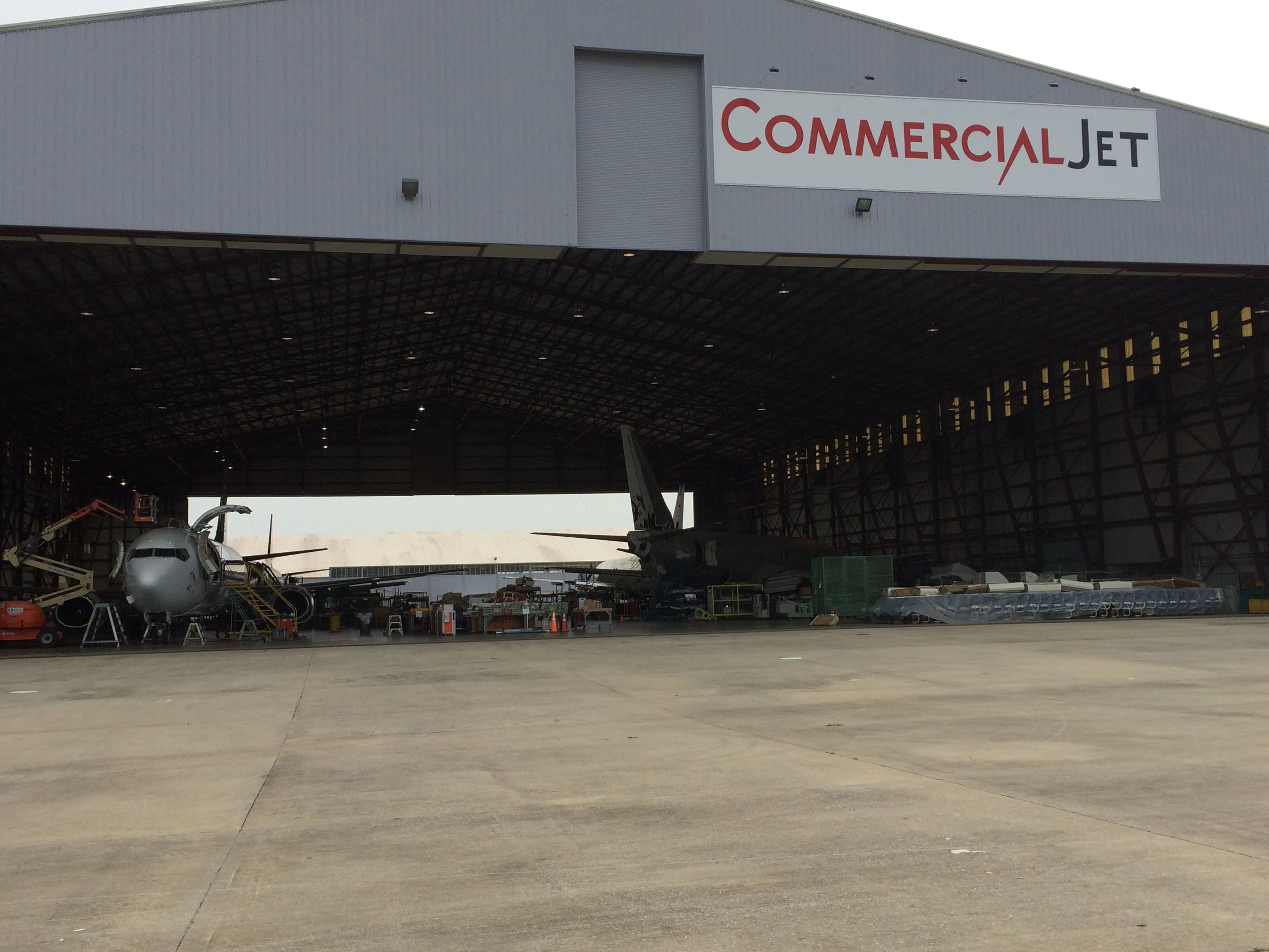 Hangar A Monter One Of The Hangars At Kdhn Commercial Jet Dothan Al