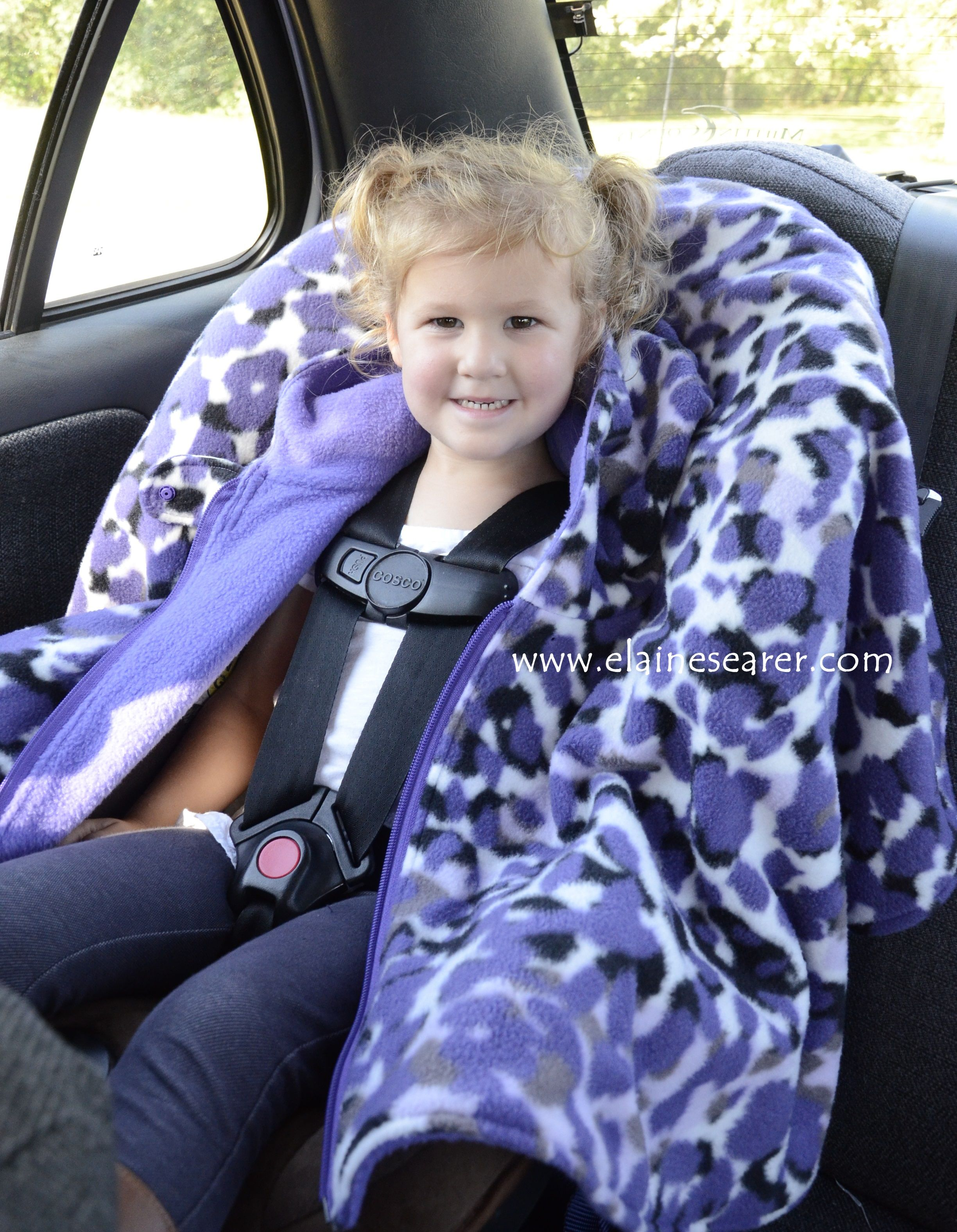 Custom Car Seat Ponchos