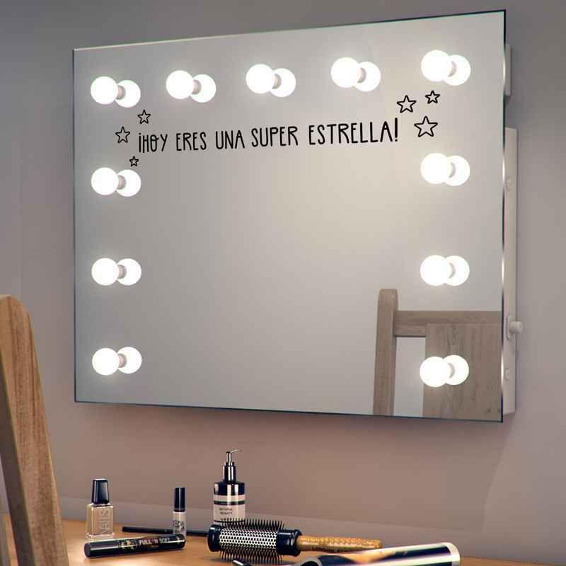 Vinilo para espejo en el ba o 2 casa ba o pinterest - Vinilo pared bano ...