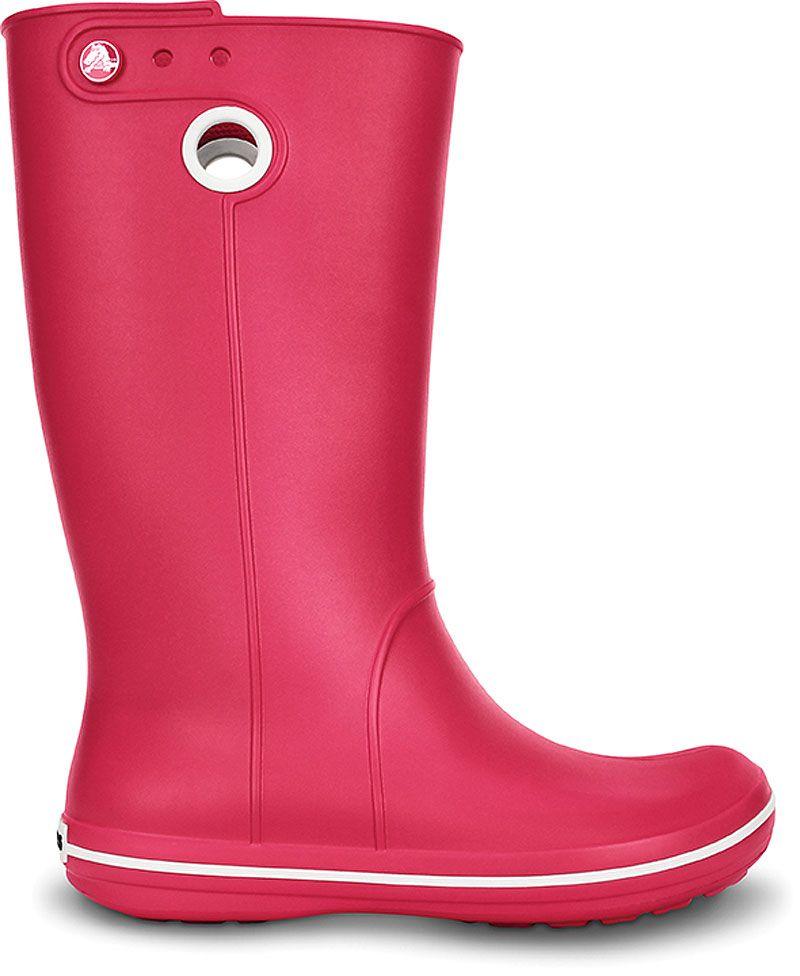 official photos 2a064 599c3 Crocs-Crocband-Jaunt-Damen-Gummistiefel-Boots-Schuhe ...