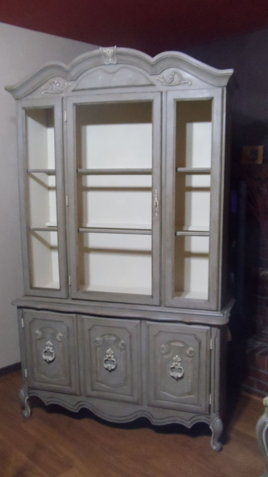 China Cabinet Painted In Annie Sloans Chalk Paint Coco Old Ochre