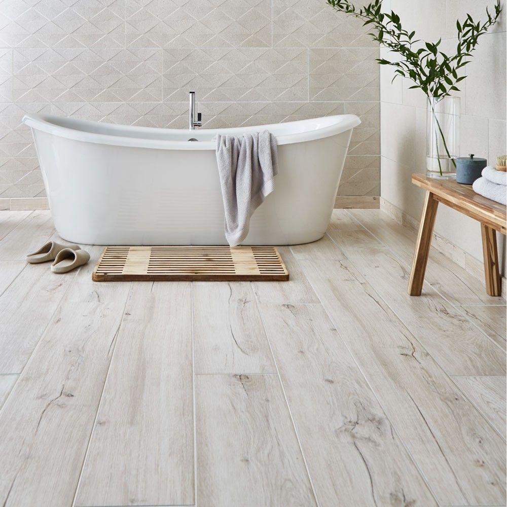910x153 Light Oak Wood Effect Tiles
