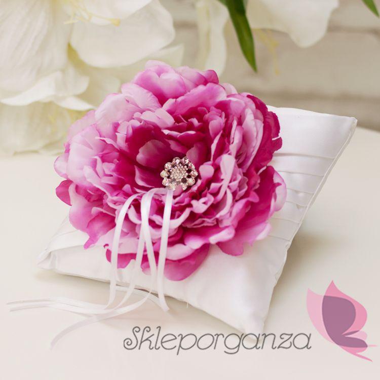 Poduszka Z Kwiatem Piwonii Pillows