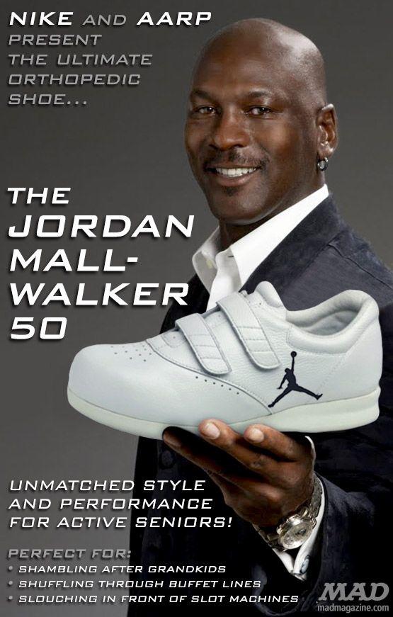 Mall Walker   Michael jordan shoes
