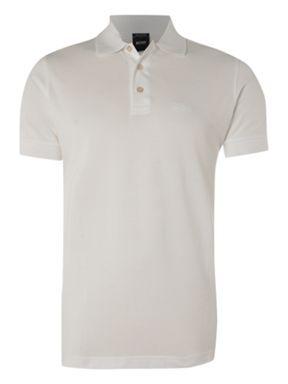 88d1c08ac Hugo Boss Ferrara polo shirt White - House of Fraser | Clothes ...