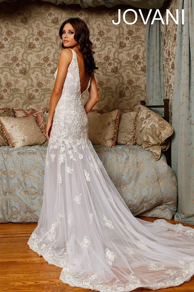 Jovani Mermaid Wedding Dresses