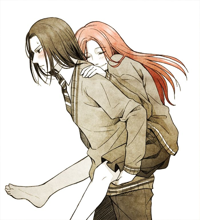 Severus Snape and Lily Evans