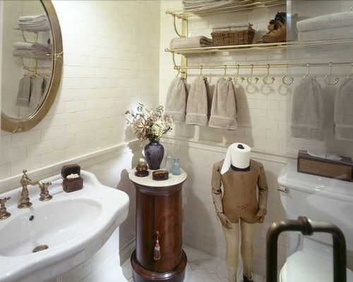 Cute Ways To Display Beanies And Scarves Google Search Home - Paper towel holder for bathroom for bathroom decor ideas