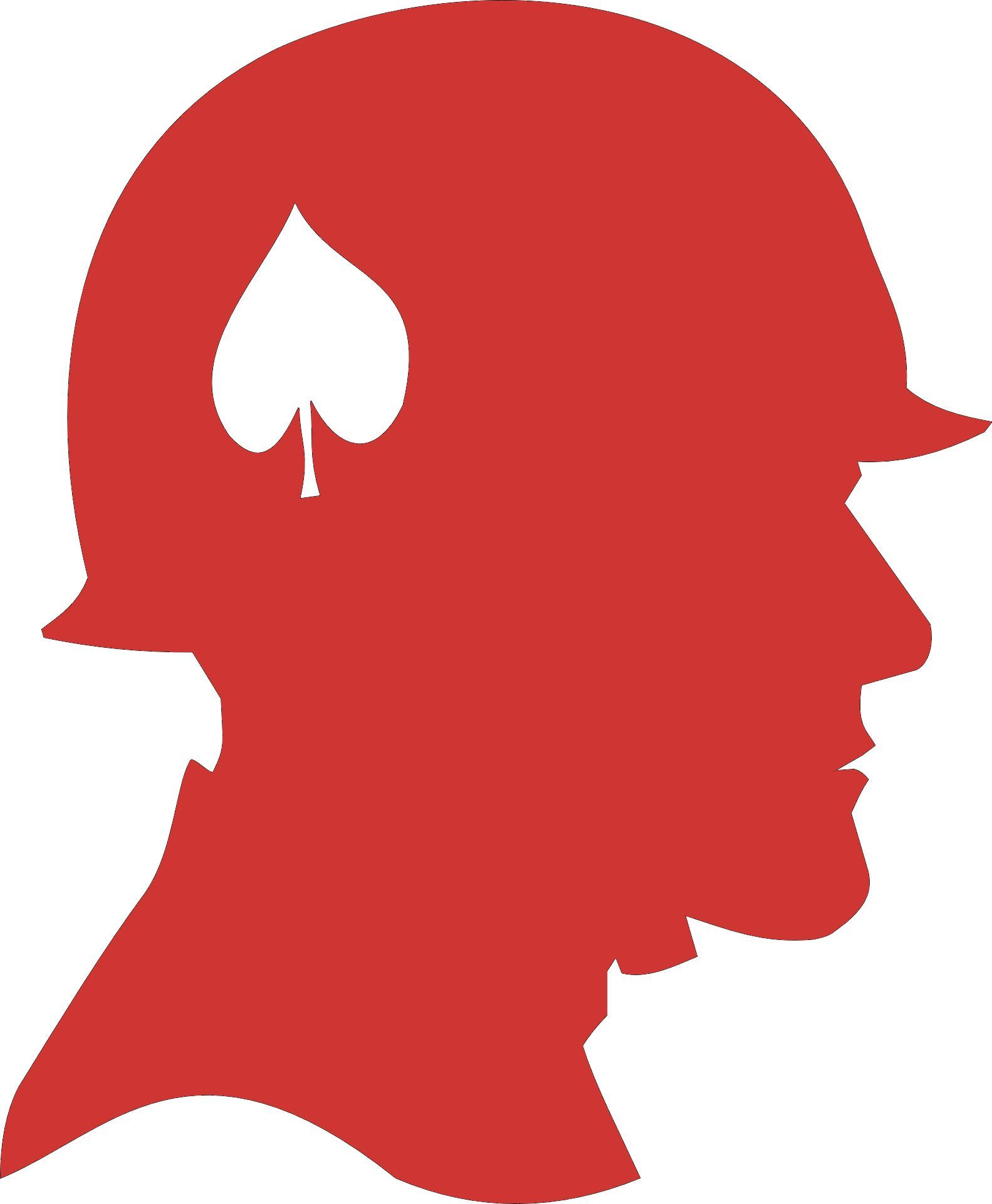 Soldier Head Decal