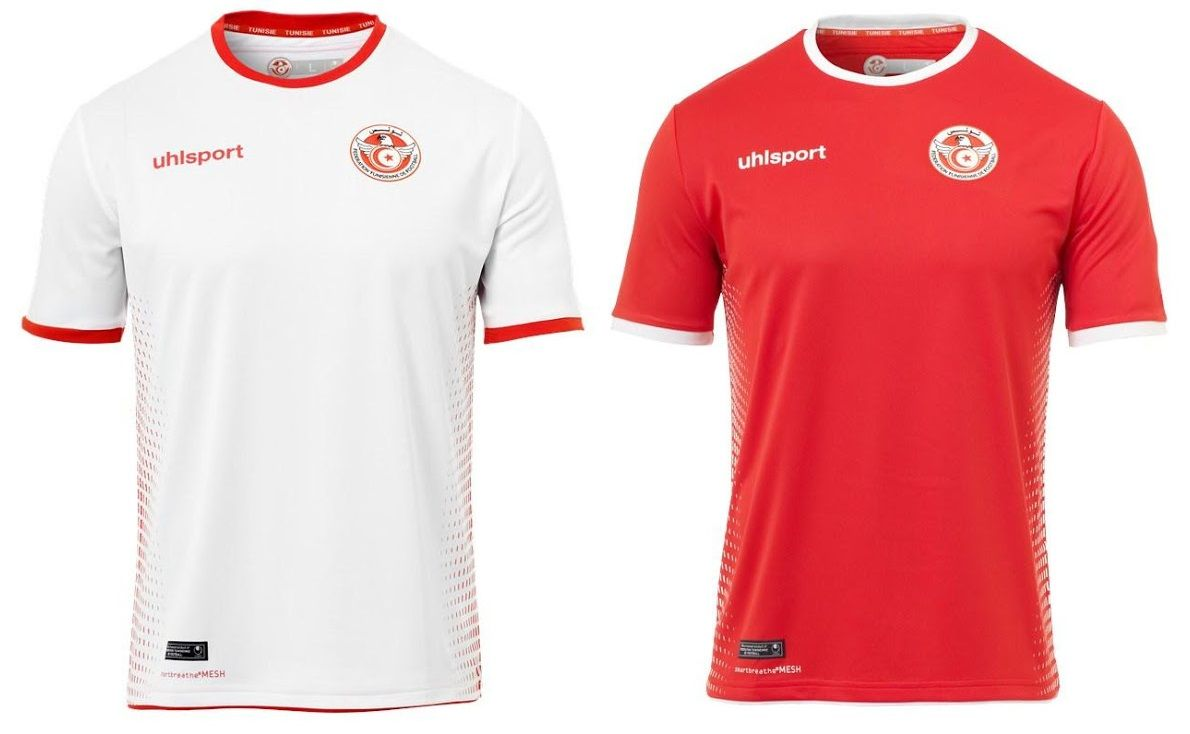 0db485245 World Cup 2018 Kits Tunisia (Home & Away Jerseys) – UhlSport #disnaija  #worldcup2018 #fifaworldcup #football #roadtorussia #worldcup2018russia  #russia2018 # ...