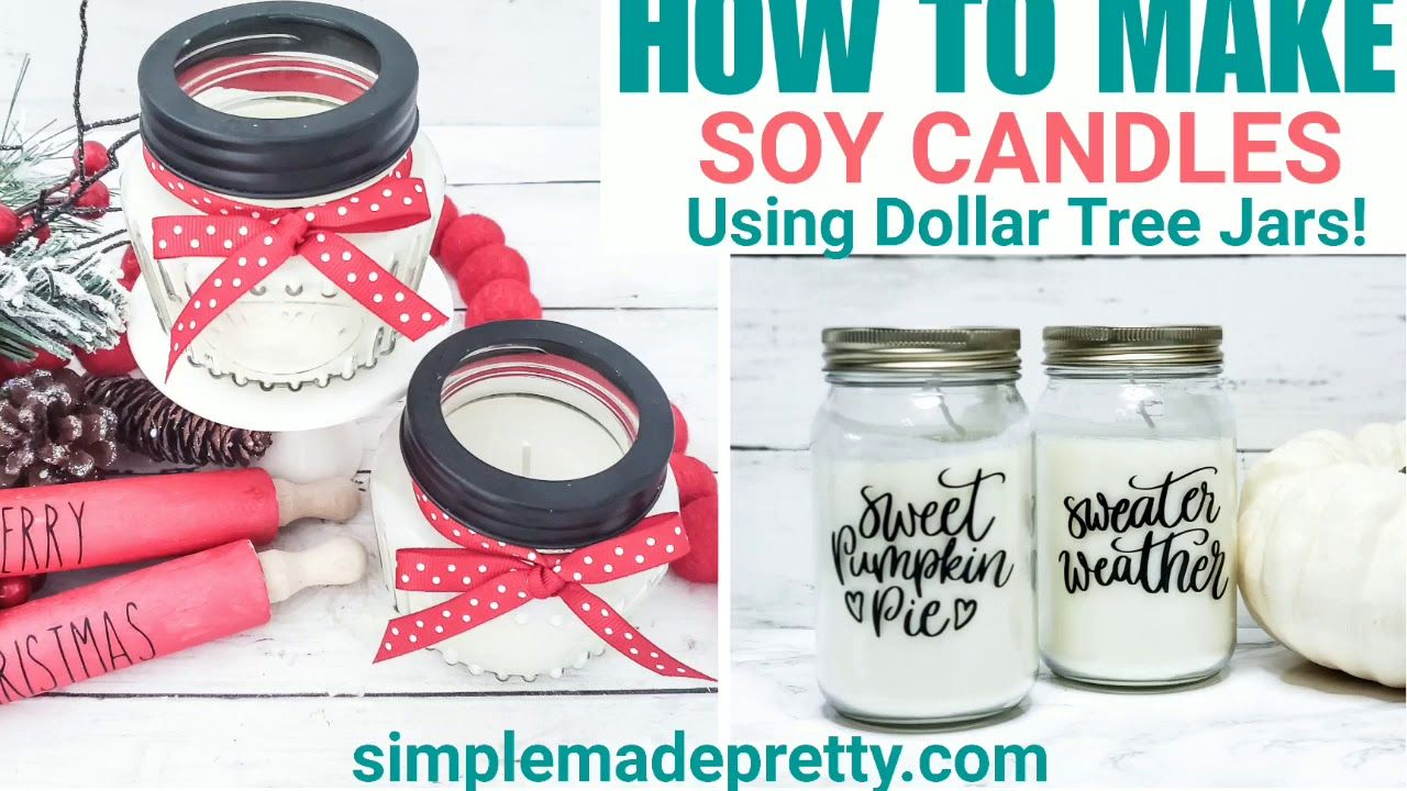 How To Make Soy Scented Candles Soy Wax Candle Making