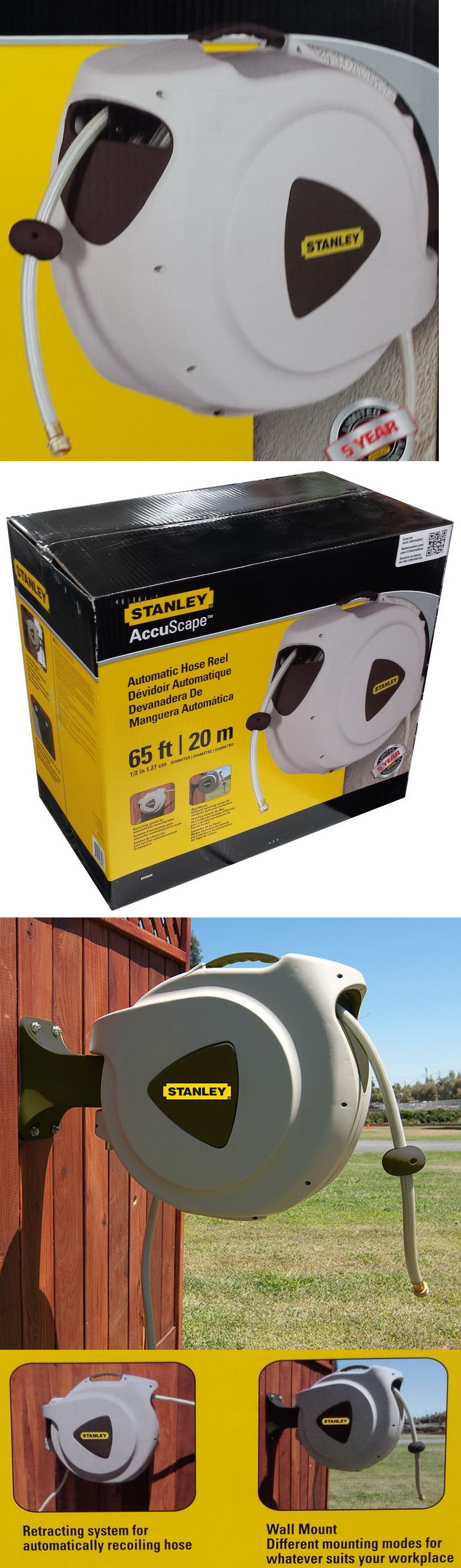 Other Watering Equipment 29522: New Stanley Automatic Recoiling Hose ...