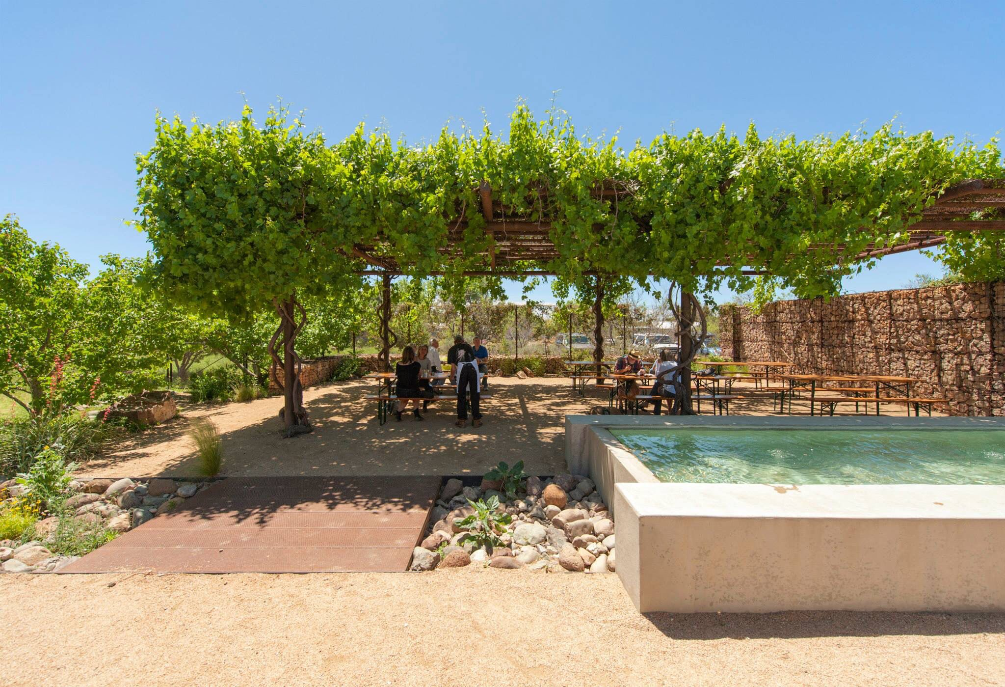 The capri marfa tx landscape by ten eyck landscape for Ten eyck landscape architects