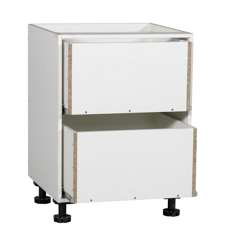 Kaboodle 600mm 2 Drawer Base Cabinet   Base cabinets ...