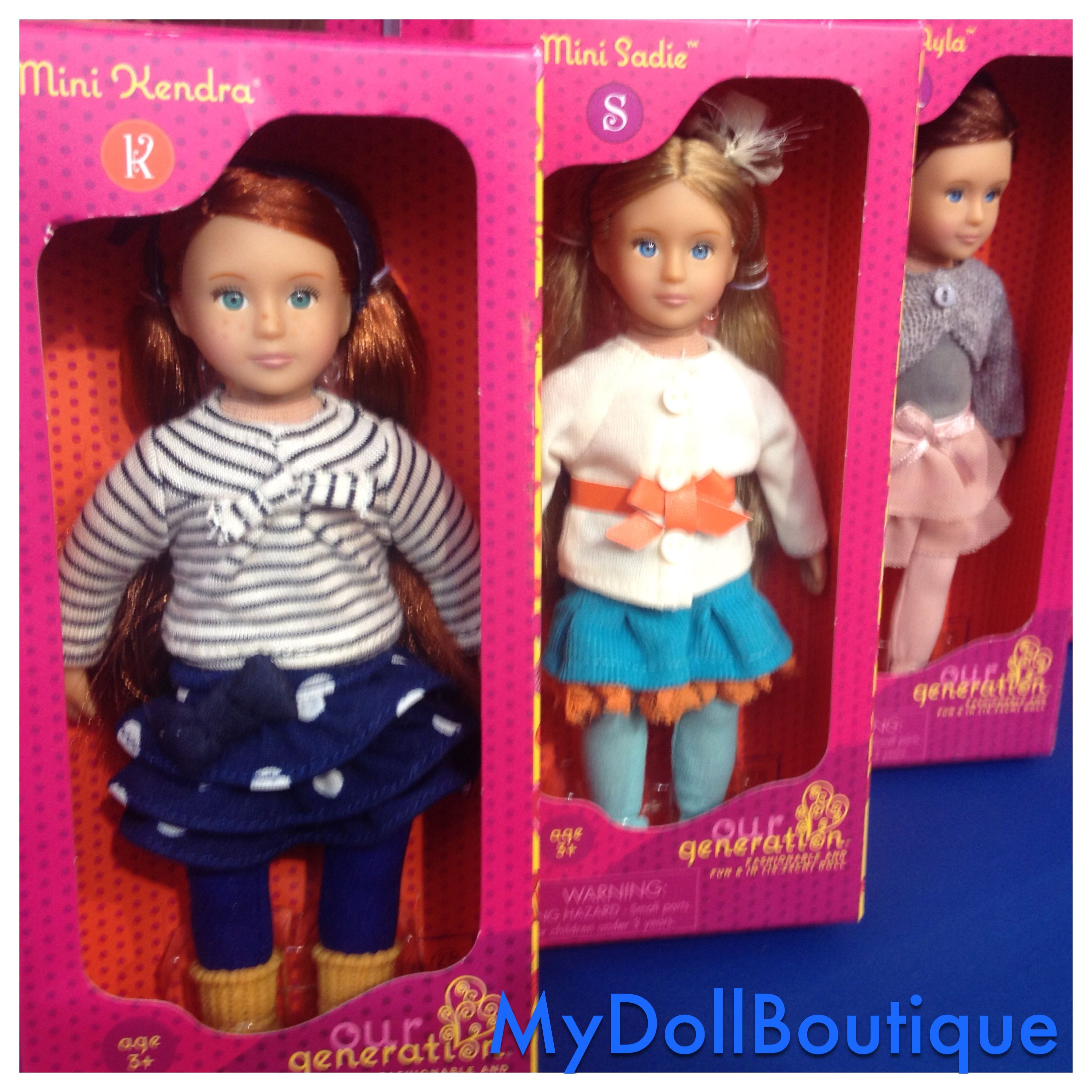 """New Our Generation Mini 6/"""" Kendra Doll Outfit Fits American Girl minis"""