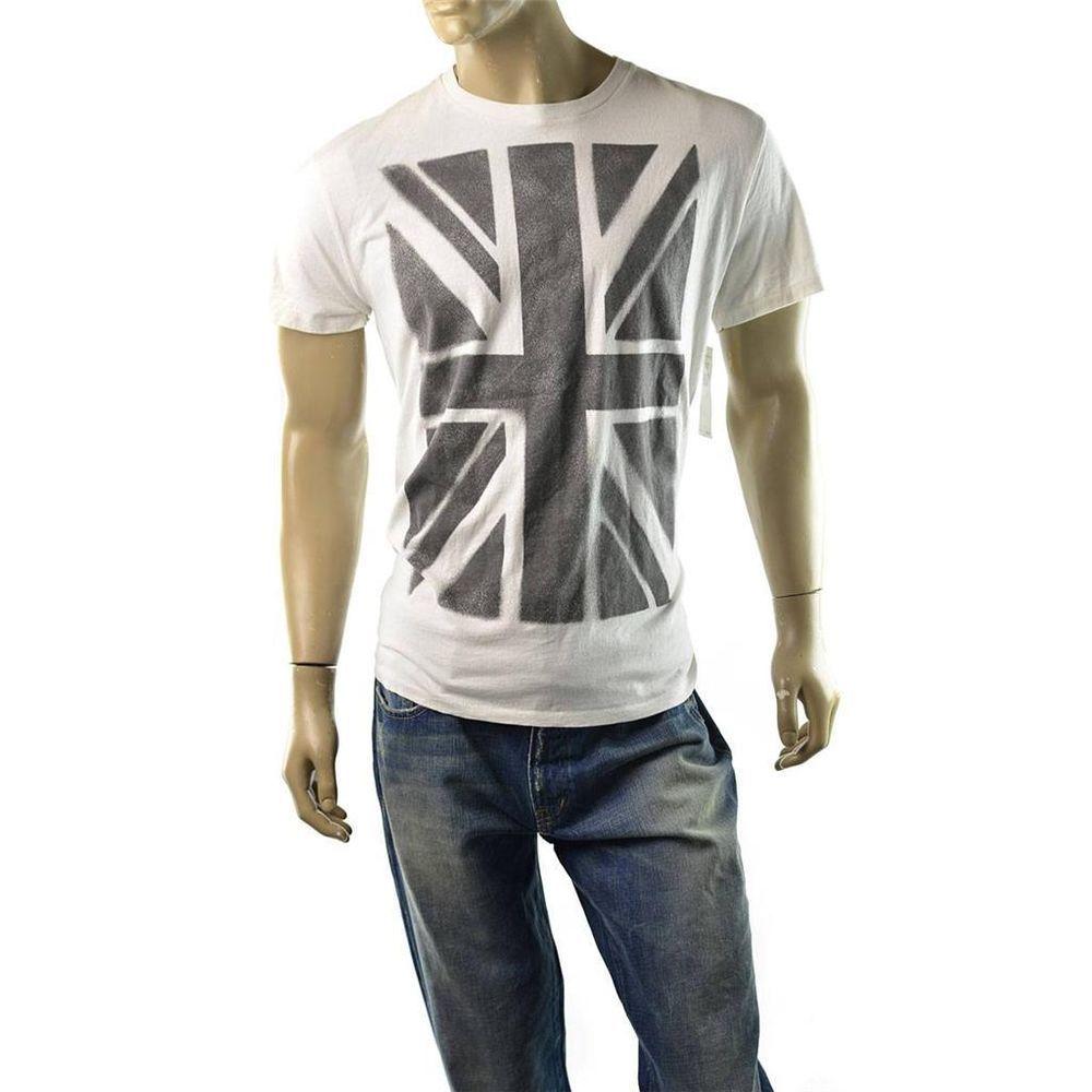 1fdc4c0c09a Denim   Supply Ralph Lauren T Shirt Mens Union Jack Flag Shirts Size L NEW  Sexy  DenimSupplyRalphLauren  GraphicTee