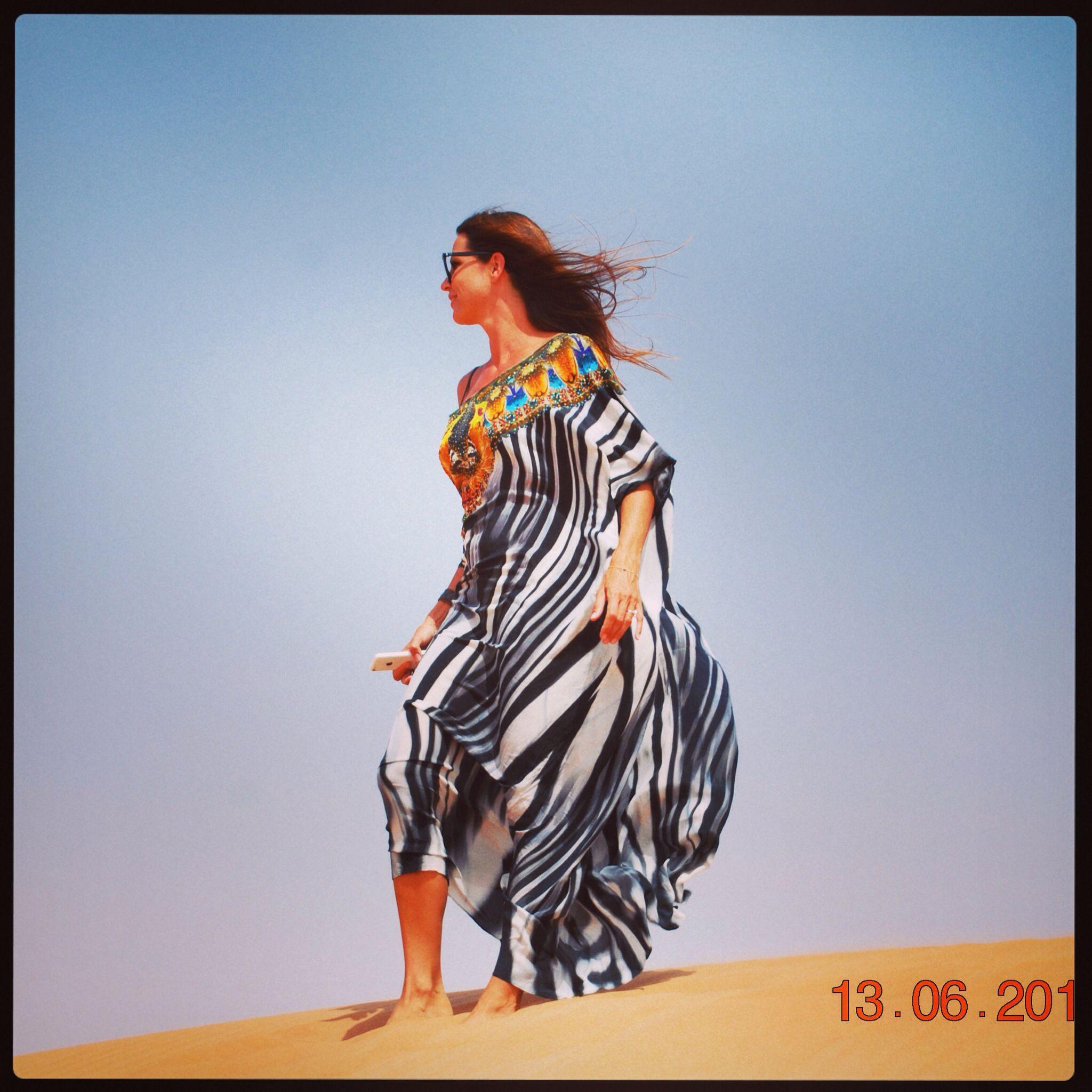 167bbb54abc Camilla kaftan in the Dubai desert