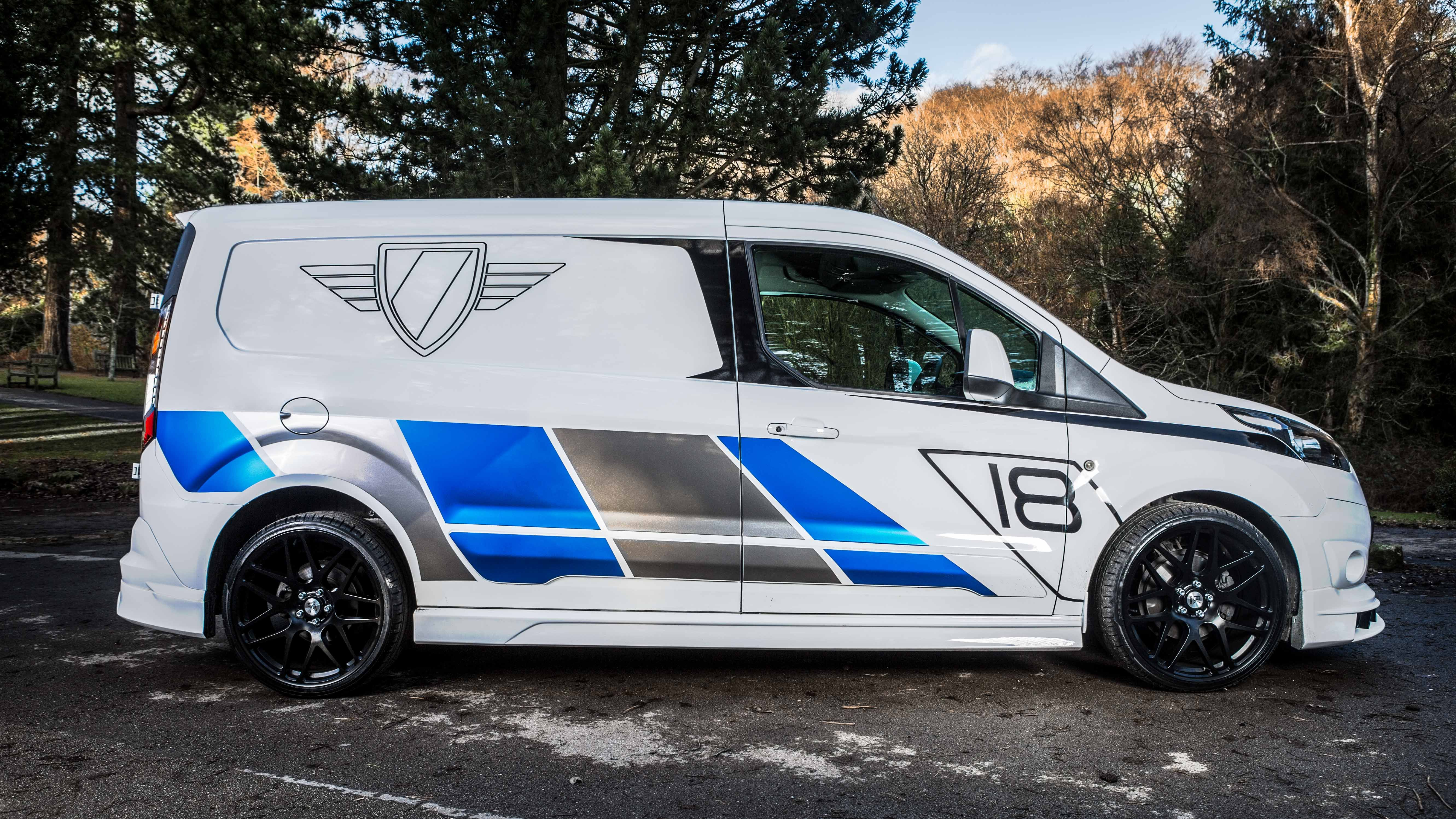Ford Transit Connect Bodykit Designed By Xcluisve Customz Made