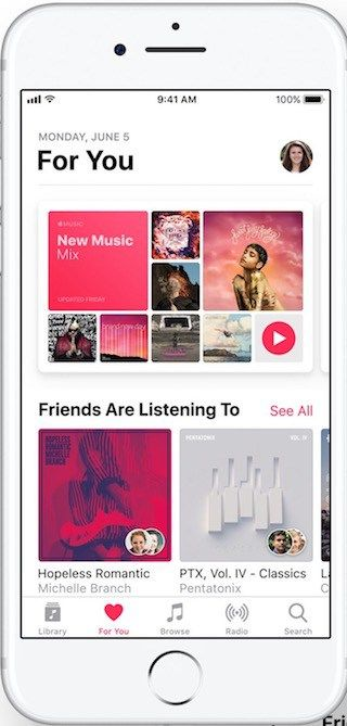 Apple Music Apple Music Ios 11 Ios