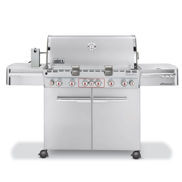 Summit S 670 Gas Grill Natural Gas Stainless Steel Gas Grill Best Gas Grills Natural Gas Grill