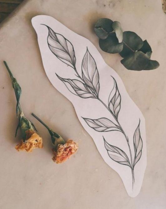 Tattoo Art Drawings Floral - Tattoo