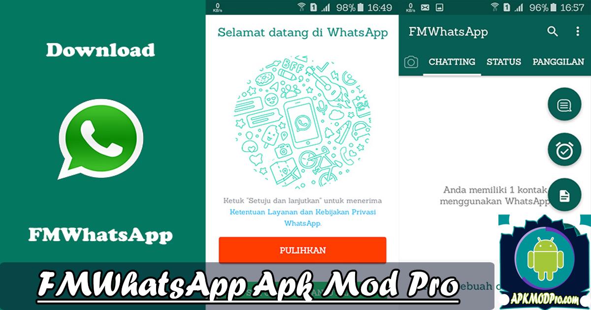 Fmwhatsapp V8 12 Mod Apk Latest Version Anti Ban New 2020 Download Now Fleksibilitas Aplikasi