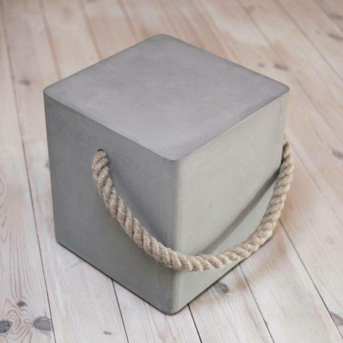 Beton Design Beton Möbel Selber Machen Einrichtugnsbeispiele Block