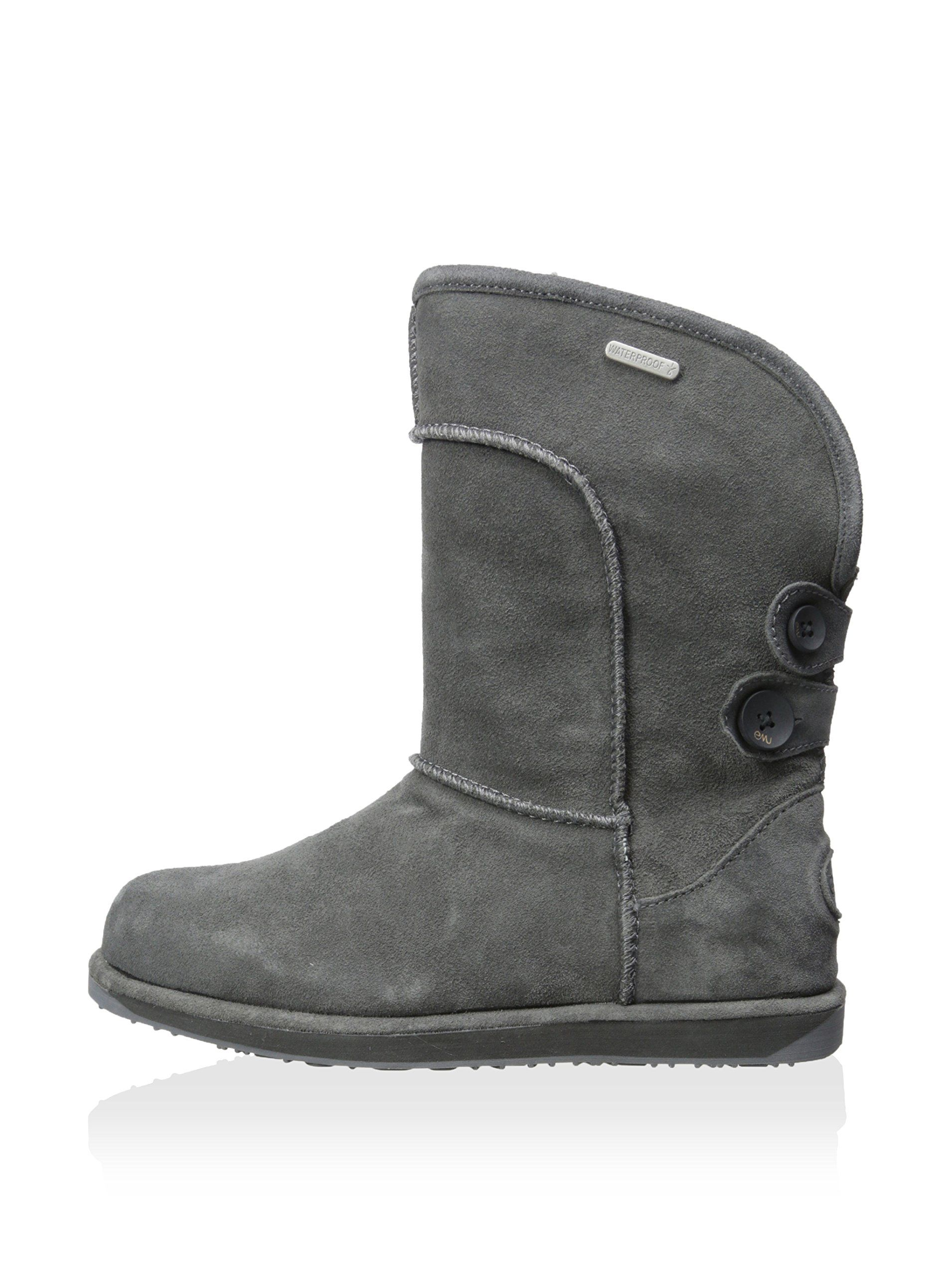 Emu Womens Black Boots Charlotte