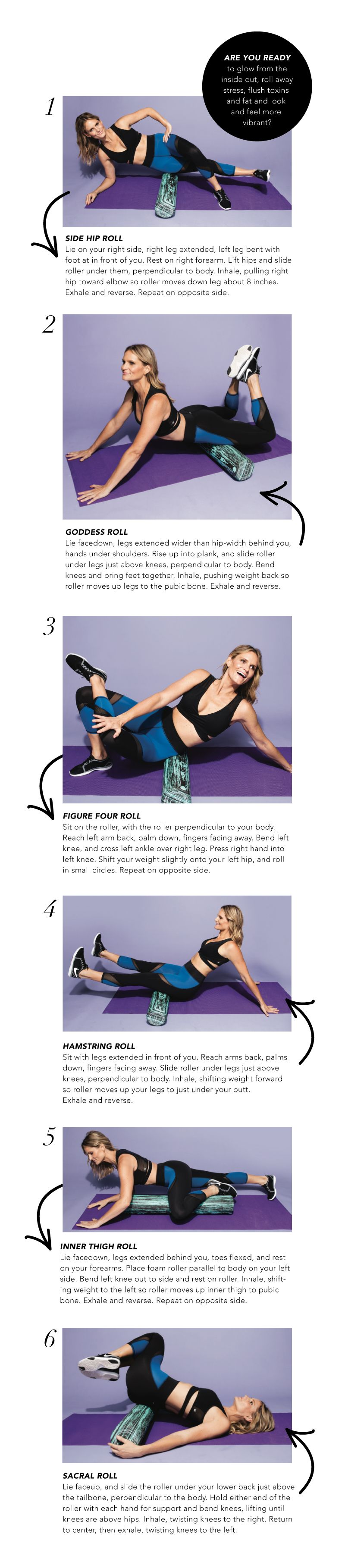 Back exercise lower physical therapy - 6 Moves For Better Lovin Foam Roller Exercises From Lauren Roxburgh