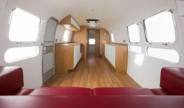 Minimalist Airstream Untethered Pinterest Airstream Simple Airstream Interior Design Minimalist