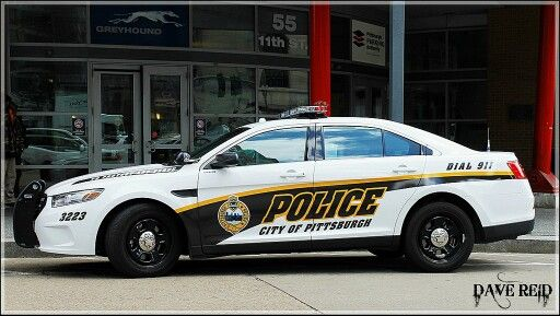 City Of Pittsburgh Pa Police 3223 Ford Taurus Interceptor