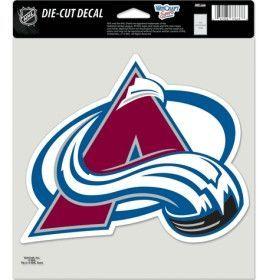 """Colorado Avalanche Die-Cut Decal - 8""""x8"""" Color"""