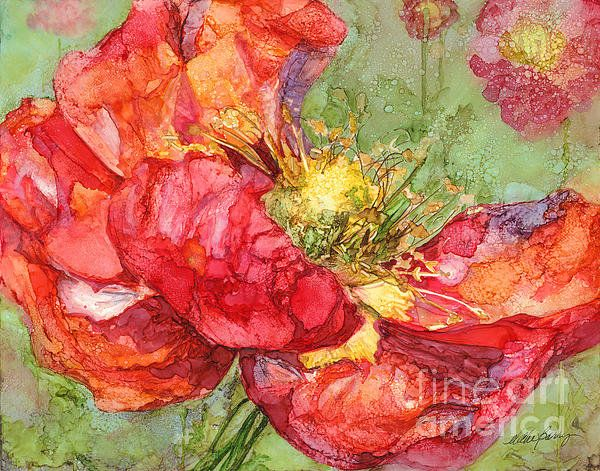 Ice Poppy Finish by Vicki Baun Barry