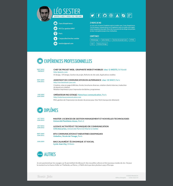 Http Remixjobs Com Blog Wp Content Uploads 2013 07 Leo Sestier Web Jpg Baccalaureat Lycee Gestion