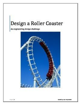 Roller Coaster Engineering Design Challenge Grade 5 Engineering