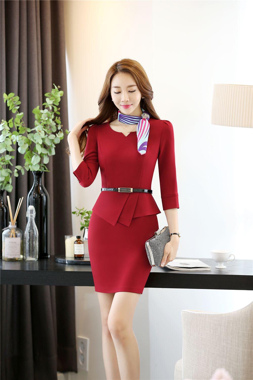 Những mẫu đồng phục công sở nữ khiến chị em văn phòng mê mẩn - 1