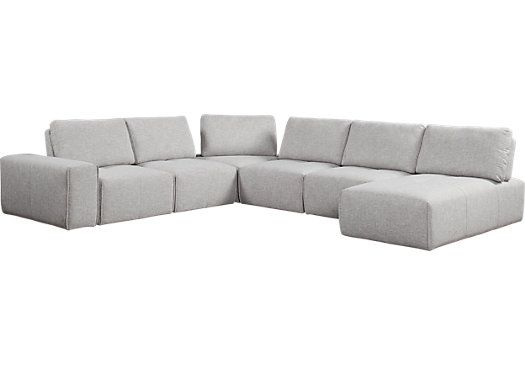 Magnificent Living Room Sets Rooms To Go Laney Park Gray 7 Pc Uwap Interior Chair Design Uwaporg